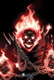 Ghost Rider No.1 Cover: Ghost Rider Flaming Posters av Adam Kubert