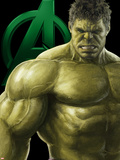 The Avengers: Age of Ultron - Hulk Kunstdrucke