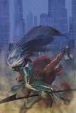 Thor: God of Thunder 17 Cover: Thor, Malekith Prints by Emanuela Lupacchino