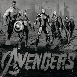 The Avengers: Age of Ultron - Iron Man, Thor, Hulk, Captain America, Hawkeye, Black Widow Print
