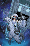 The Amazing Spider-Man No.680 Cover: Spider-Man Floating in Space Posters by Giuseppe Camuncoli