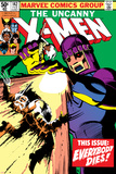 John Byrne - Uncanny X-Men No.142 Cover: Wolverine and Sentinel Obrazy