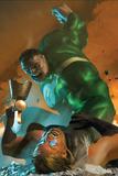 Ultimate Comics Ultimates 26 Cover: Thor, Hulk Posters by Michael Komarck