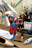 Ant-Man & Wasp No.1 Cover: Ant-Man and Wasp Running Photo by Salvador Espin