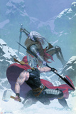 Thor: God of Thunder 16 Cover: Thor, Malekith Print by Esad Ribic