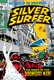 Marvel Comics Retro: Silver Surfer Comic Book Cover No.13 Print