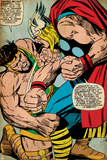 Marvel Comics Retro: Mighty Thor Comic Panel, Hercules (aged) Posters