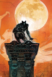 Moon Knight No.4 Cover: Moon Knight Crouching on a Column Poster by Alex Maleev