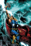 Thor: First Thunder No.1 Cover: Thor Standing Posters par Jay Anacleto