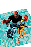 Avengers Academy No.3 Cover: Finesse, Mettle, and Hazmat Posters by Mike McKone