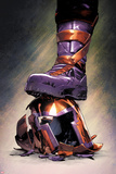 Magneto: Not a Hero No.3 Cover: Magneto Crushing his Helmet Poster by Clay Mann