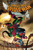John Romita Jr. - The Amazing Spider-Man No.571 Cover: Spider-Man and Green Goblin Fotky