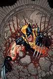 Wolverine and the X-Men 38 Cover: Wolverine Posters by Nick Bradshaw