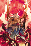 Thor No.618 Cover: Odin Standing Prints by Pasqual Ferry