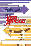 Young Avengers 4 Cover: Bishop, Kate, Marvel Boy Print by Jamie McKelvie