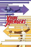 Young Avengers 4 Cover: Bishop, Kate, Marvel Boy Print by Jamie McKelvie