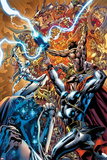 Chaos War No.3 Cover: Thor Fighting Photo by Ed McGuinness