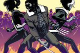 Marvel Knights: X-Men 1 Cover: Wolverine, Rogue, Pryde, Kitty Billeder af Brahm Revel
