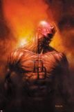 David Finch - Shadowland: After The Fall No.1 Cover: Daredevil Standing - Poster