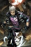 Ultimate Comics X-Men No.7: Quicksilver Crouching Plakater af Carlo Barberi