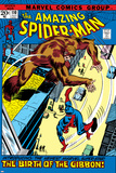 The Amazing Spider-Man No.110 Cover: Spider-Man and Gibbon Plakater av John