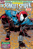 Featuring Scarlet Spider Cover: Scarlet Spider Crouching Photo