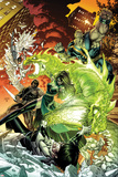 Astonishing X-Men No.49 Cover: Chimera, Harpoon, Blockbuster, and Prism Prints by Dustin Weaver