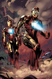 X-Factor No.230: Iron Man Print by Emanuela Lupacchino