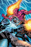 Uncanny X-Men No.7 Cover: Storm Fighting Poster by Greg Land