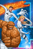 Fantastic Four No.604 Cover: Thing, Invisible Woman, Mr. Fantastic, and Human Torch Posters by Mike Choi