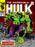 Marvel Comics Retro: The Incredible Hulk Comic Book Cover No.105 Reprodukcje