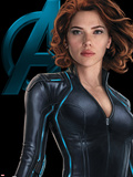 The Avengers: Age of Ultron - Black Widow Print