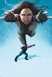 Avengers Academy No.23 Cover: X-23 Flying and Mettle Outstretched Prints by Rodin Esquejo