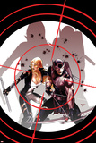 Hawkeye & Mockingbird No.3 Cover: Hawkeye and Mockingbird Posters by Paul Renaud