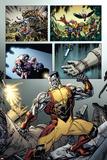 Origins of Marvel Comics: X-Men No.1: Colossus Fighting Posters by David Yardin