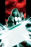 Ultimates No.2 Cover: Thor Posing with Mjolnir Posters by Kaare Andrews