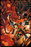 Wolverine 6 Cover: Wolverine, S.H.I.E.L.D. Posters by Alan Davis