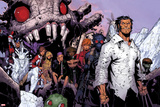 Wolverine & The X-Men No.3: Iceman, Kitty Pryde, Quentin Quire, Broo, Beast, Wolverine, and Others Poster af Chris Bachalo