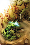Incredible Hulks No.620 Cover: Hulk Fighting Prints by Carlo Pagulayan