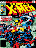 Marvel Comics Retro: The X-Men Comic Book Cover No.133, Wolverine Lashes Out Poster