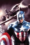 Captain America No.609 Cover: Captain America Affiches par Marko Djurdjevic