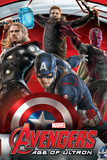 The Avengers: Age of Ultron - Captain America, Thor, Hawkeye and Vision Prints