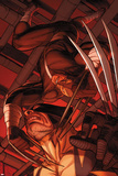 Daken: Dark Wolverine No.9.1: Daken and Wolverine Posters by Ron Garney