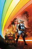 Thor: Whosoever Wields This Hammer No.1 Cover: Thor near the Rainbow Bridge Posters by Tom Raney