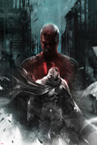 Shadowland: Moon Knight No.1 Cover: Moon Knight and Daredevil Walking Poster by Francesco Mattina