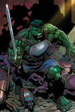 Incredible Hulks No.624: Hulk with a Sword Print by Dale Eaglesham