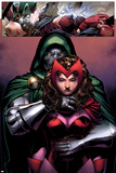 Avengers: The Childrens Crusade No.2: Dr. Doom and Scarlet Witch Standing Photo by Jim Cheung