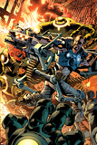 Ultimate Doom No.1 Cover: Nick Fury Fighting Prints by Bryan Hitch