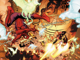 New Avengers No.4: Spider-Man and Ms. Marvel Fighting Prints by Stuart Immonen