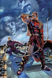 Hawkeye: Blindspot No.2: Hawkeye Sanding with Bow and Arrow Prints by Paco Diaz